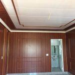 Thợ ốp tường nhựa Giả Đá Giả Gỗ PVC Nano giá rẻ, Nhận làm Vách nhựa Trọn gói chuyên nghiệp tại hà nội