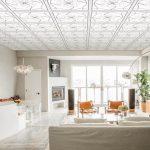 Mẫu Tấm trần nhựa thả 60x60 chịu nước chống nóng 2021 3D Khung xương vĩnh tường đẹp nhất