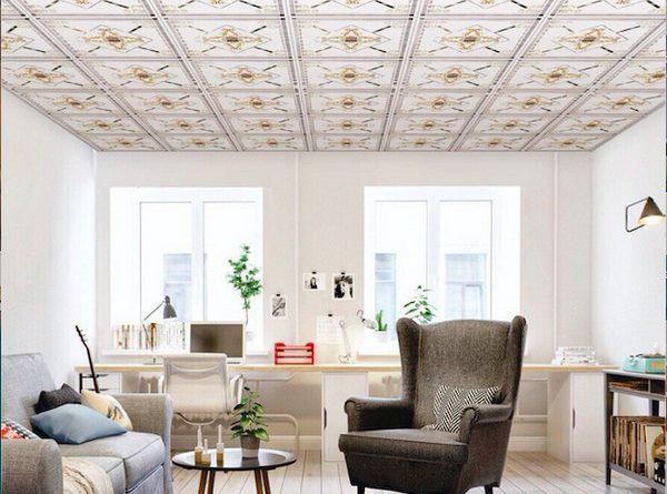 Giá tấm trần thả 60×60 thạch cao giá bao nhiêu tiền một mét vuông tại hà nội tphcm hoàn thiện trọn gói 2021
